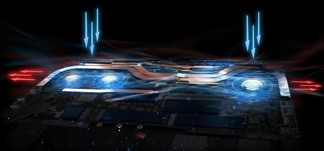 تبريد: الجيل الرابع AeroBlade ثلاثية الابعاد التكنولوجيا