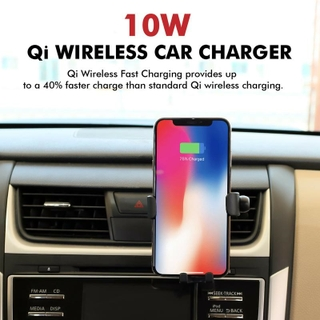 Provides In-Car Wireless Charging for Your Qi-Enabled Phone