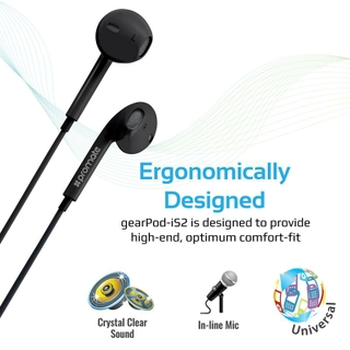 Circular Earbuds Designed for Comfort