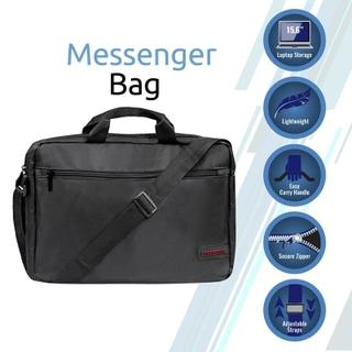 "Premium Lightweight Messenger Bag for Laptops up to 15.6"""