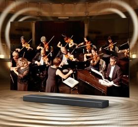 التناغم بين التلفزيون وجهاز الصوت