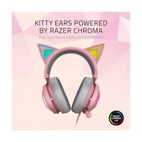 Kitty Ears And Earcups Powered By RAZER CHROMA