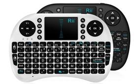 Rii i8 Mini 2 4GHz Wireless Keyboard with Mouse - Black