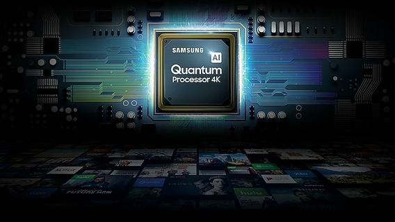 Powerful performance Quantum Processor 4K
