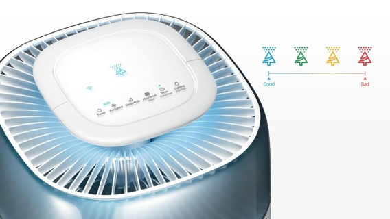Smart Detection & Display Dust Sensor, Gas Sensor