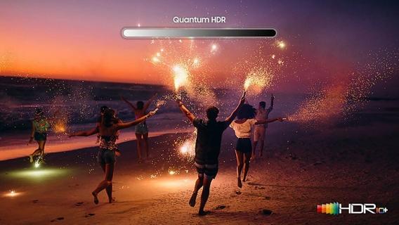 Unimaginable HDR with 8K brilliance Quantum HDR 32X