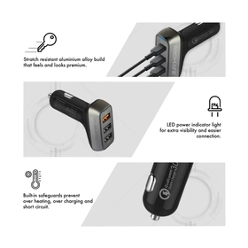 Three USB Ports for Universal Compatibility