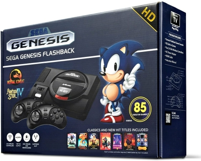 Relive the 16-bit classics with this Sega Genesis Flashback console