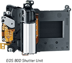Shutter Durability Tested Up To 100,000