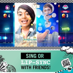 Sing or lip-sync your way to stardom with Just Sing!