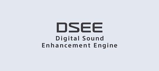 """محرك تعزيز الصوت الرقمي """"DSEE"""" يعيد التفاصيل إلى الموسيقى الرقمية الخاصة بك"""
