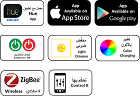 Control from your iOS and Android smart devices