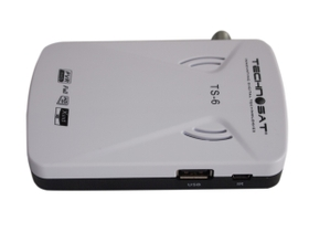 Technosat Mini Full-HD Free To Air Set Up Box - White (TS-6