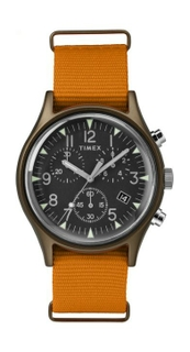 MK1 Aluminum Chronograph 40mm Fabric Strap Watch
