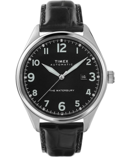 Timex Gent's Analog Leather Watch