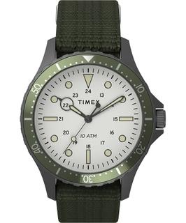 Timex 41mm Gent's Analog Fabric Watch