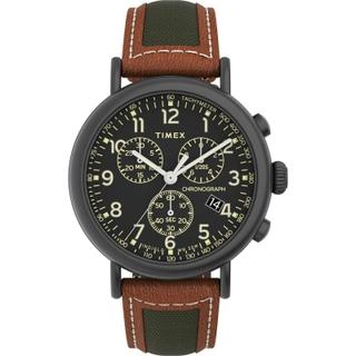 Timex Essential Collection 35mm Gent's Leather Quartz Watch - (TW2U58000)