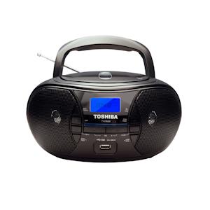 مشغل / راديو CD TY-CRU20 من توشيبا - أسود
