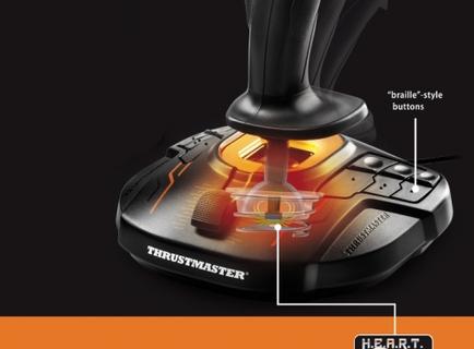 Thrustmaster Flight Control System Joystick (THRST-T16000M-FCS