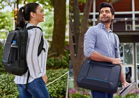 The backpack designed with the environment in mind