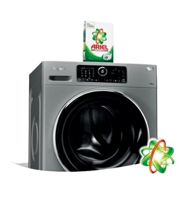Whirlpool and Ariel: powerful technology for perfect cleaning and care