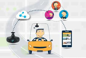 أول كامبرا للسيارة متصلة مع وسائل التواصل الإجتماعي