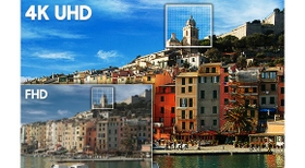 Real 4K UHD Resolution