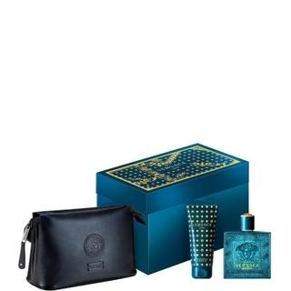 Versace - Eros Gift Set EDT 100ml + Shower Gel 100ml + Wash Bag ... a20ad0cc6457a