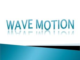 Wave Motion Technology