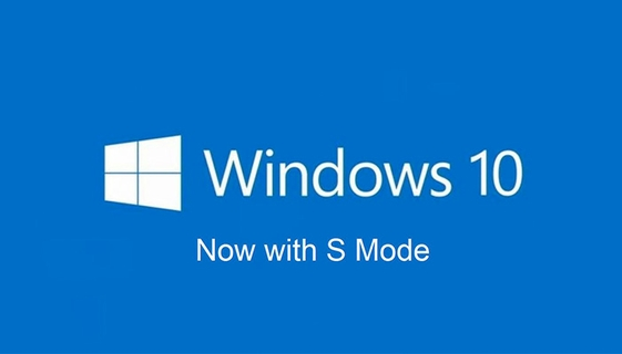 Windows 10 in S Mode