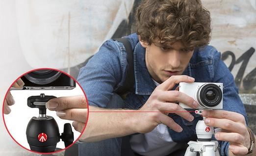 يتلاءم مع مختلف أنواع الكاميرات