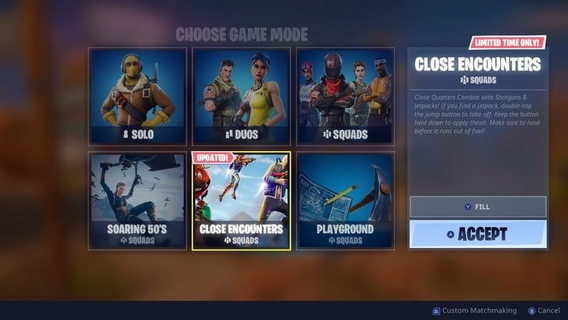 Limited Time Modes