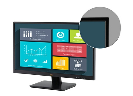 Narrow Bezel Design for Seamless Viewing