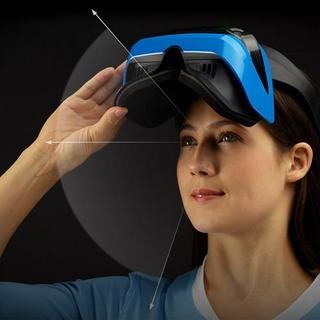 Flip Visor & Adjustable Headband