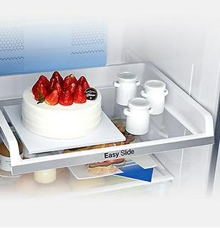 سهولة الوصول إلى الطعام مع رف Easy Slide