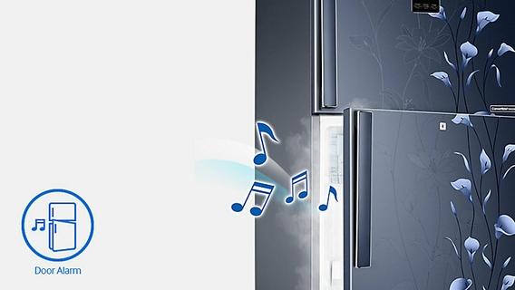 Energy-saving door alarm