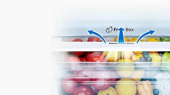 Keeps perishable food fresher