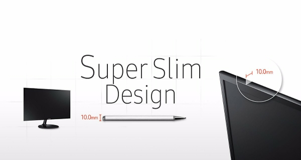 Super Slim, Stylish, Contemporary Design
