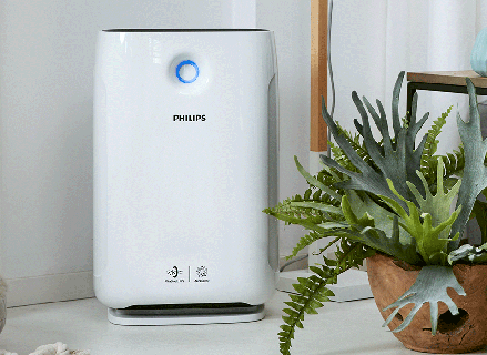 Automatically Monitors, Reacts & Purifiers the Air