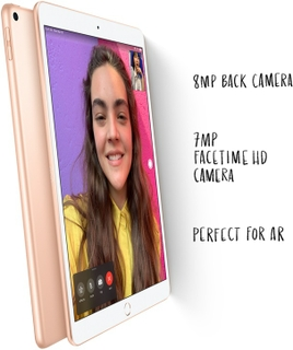 iPad Air Cameras: Stay in touch.  Shoot in HD.  Play in AR.
