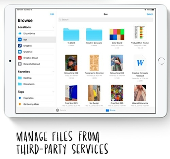 All your files.  All in one place.