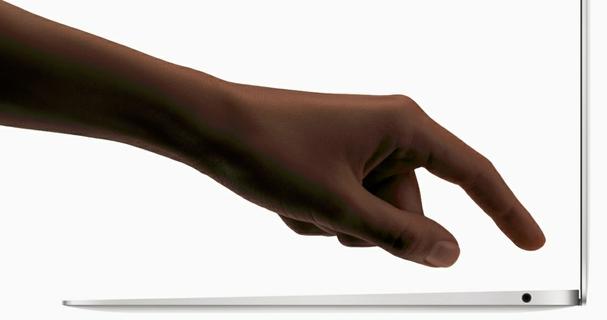 بصمة اللمس: بصمة أصبعك هي كلمة مرورك.