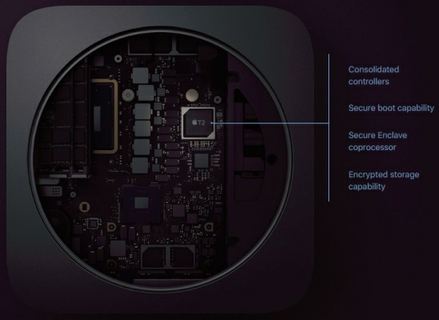 Apple T2 Security Chip: Next Generation Security.