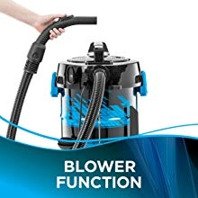 Switch from Suction to Blower Function