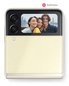 The Cover Screen has selfies covered