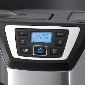Program your machine for coffee when you want it