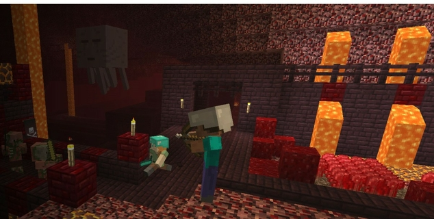 Minecraft: More fun with friends