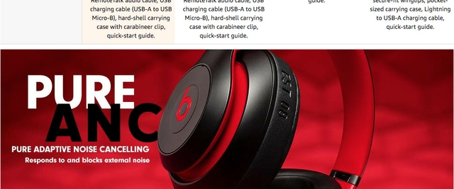 84db535f8e1 Why to buy Beats Studio3 Decade Collection Headphones - Defiant Black/Red :