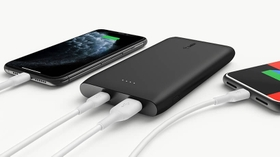 LONG-LASTING POWER FOR TWO DEVICES