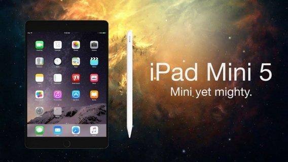 NEW Apple iPad Mini 5: Mini Just Got Mightier.